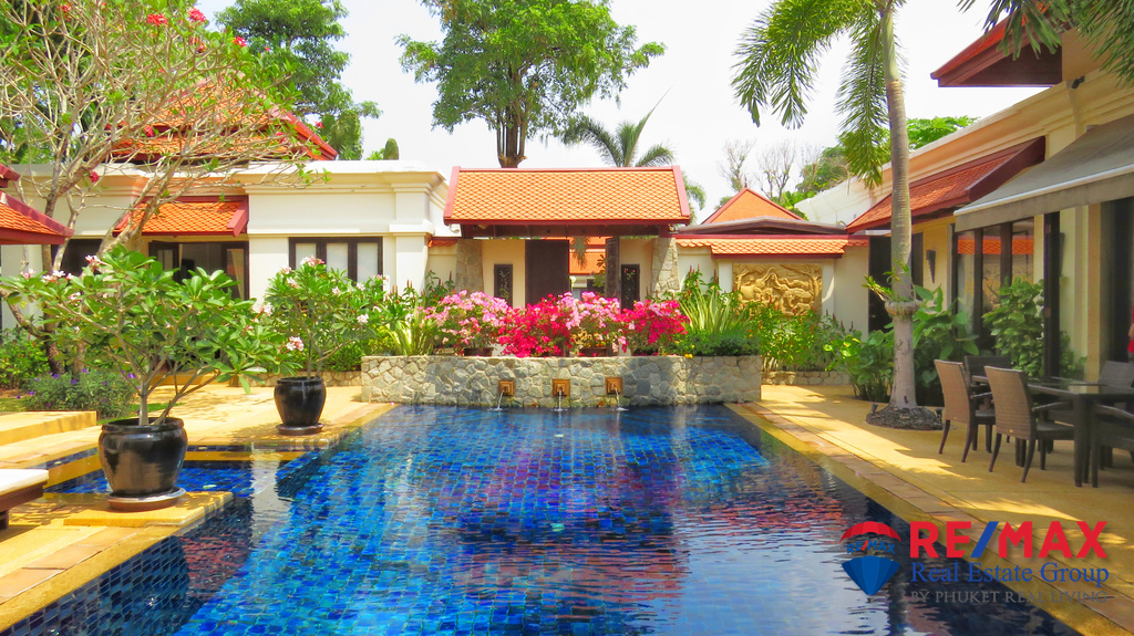 Sai Taan Villa Balinese-Style 4 bedrooms villa