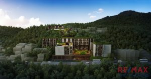Hillside Development Overlooking Kata Beach