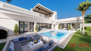 Modern Moroccan Style Pool Villa Sale in Thalang, Phuket