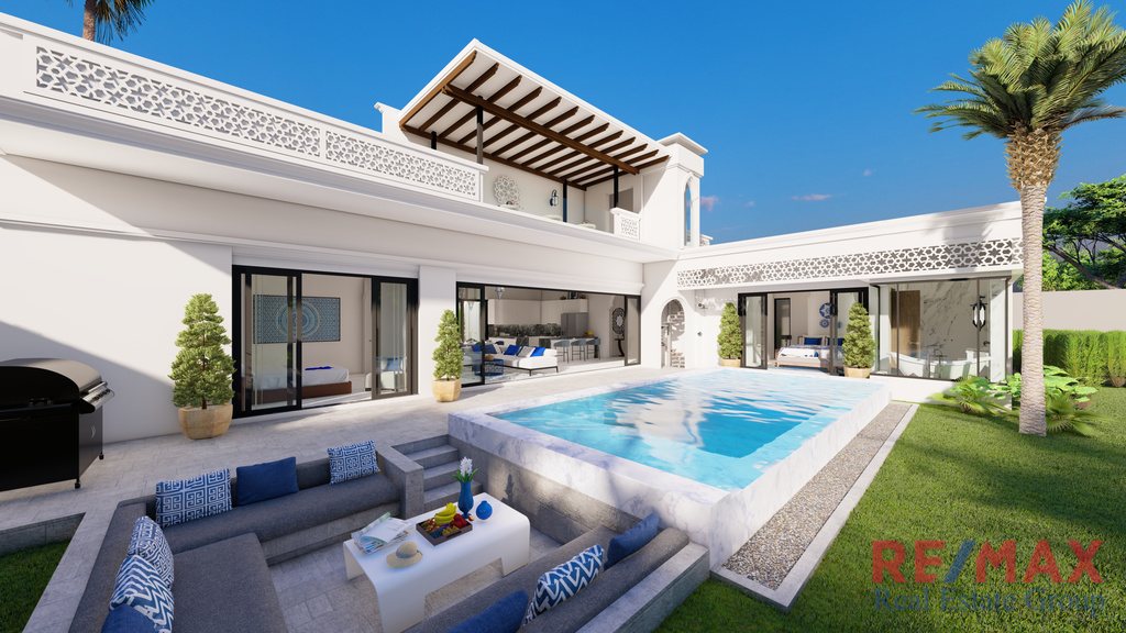 Modern Moroccan Style Pool Villa Sale in Thalang, Phuket