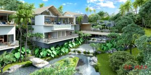 Mountain Lake Side Villa Development in Thalang