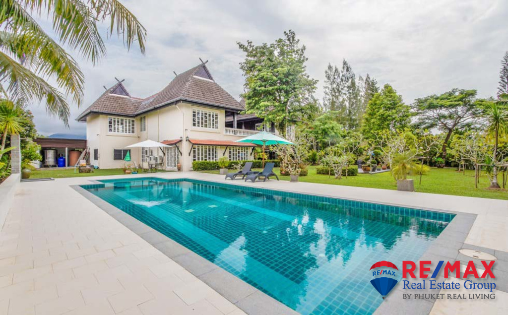 Luxurious Standalone 4 Bedroom Pool Villa for Sale in Thalang, Phuket