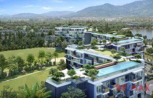 Modern Condominium Overlooking Golf Course in Laguna