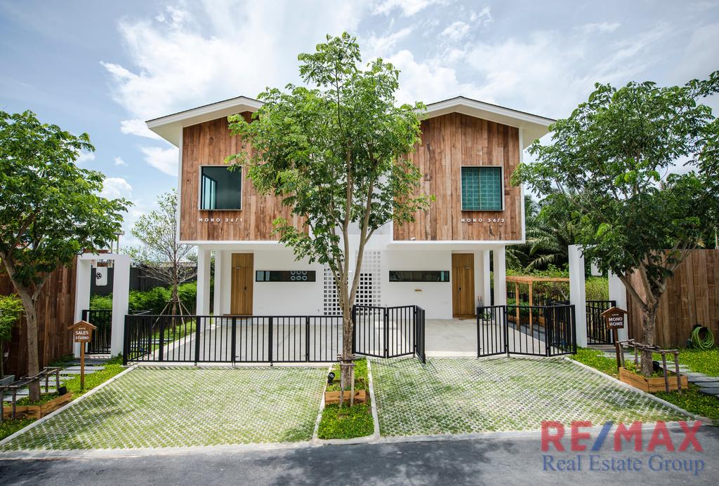 Japanese Loft Style Twin House for Sale in Koh Kaew, Phuket