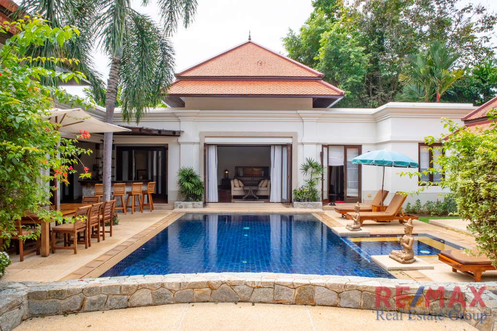 Balinese-Style 5 Bedroom Villa for Sale in Choeng Thale, Phuket
