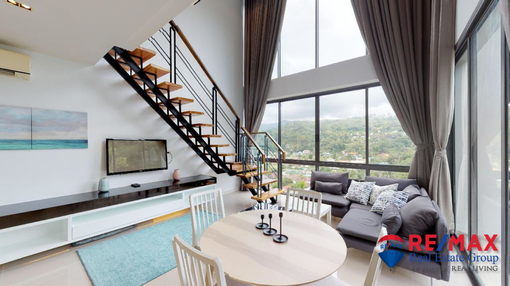 Icon A41 – 2 Bedroom Duplex Mountain View Apartment for Rent in Kamala