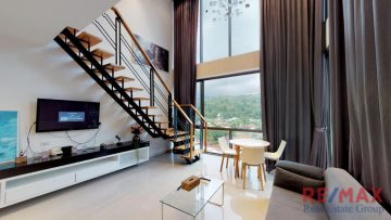 Icon C41 - 2 Bedroom Duplex Mountain View Apartment for Rent in Kamala