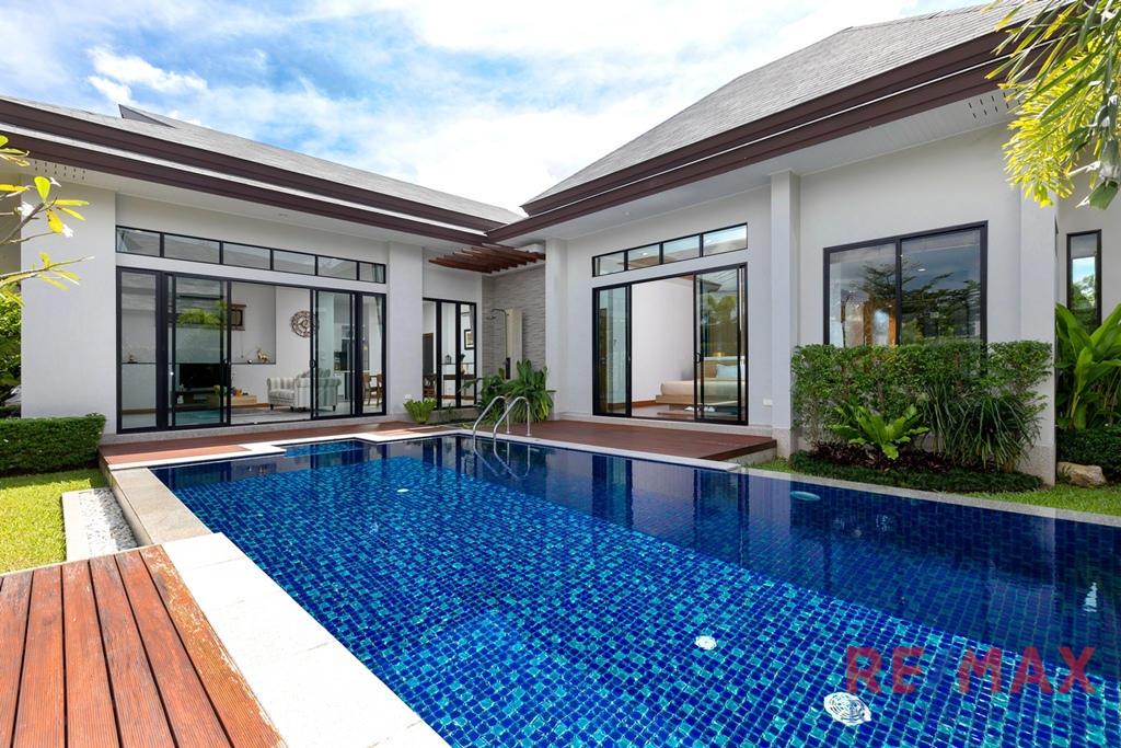 3 Bedroom Pool Villa Development for Sale in Layan, Phuket