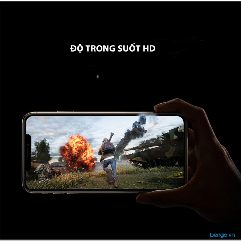 Dán cường lực iPhone 11 Pro JCPAL 3D Armor Full màn hình