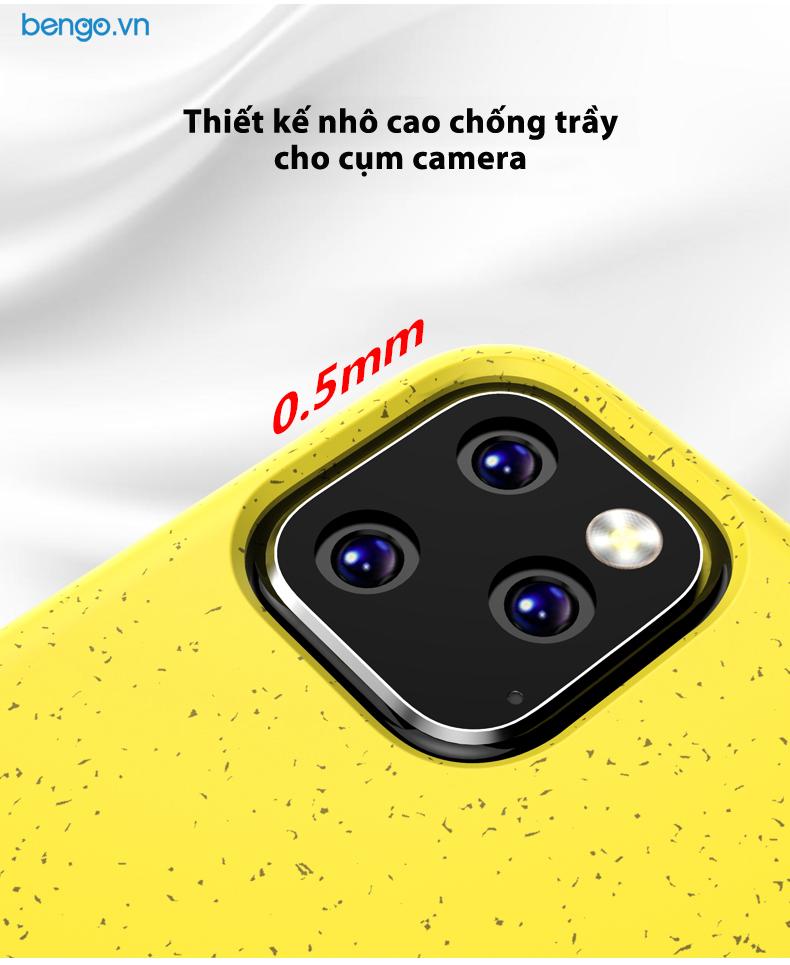 Ốp lưng iPhone 11 Pro IPAKY TPU dẻo nhiều màu