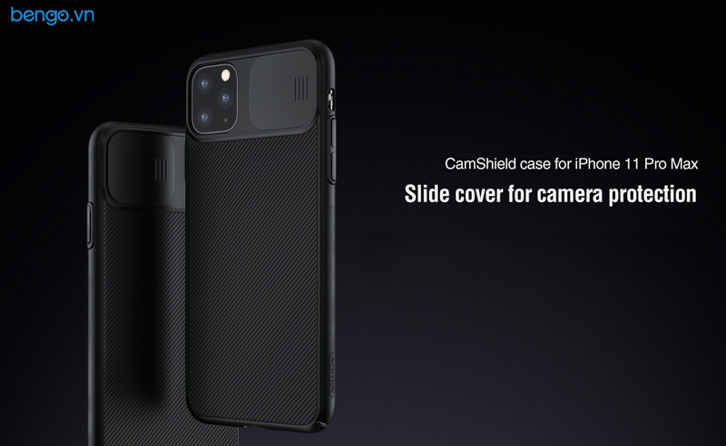 Ốp lưng iPhone 11 Pro Max NILLKIN CamShield Case