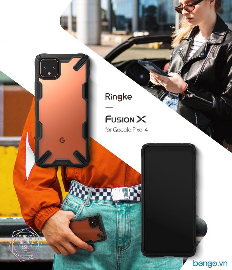 Ốp lưng Google Pixel 4 Ringke Fusion X