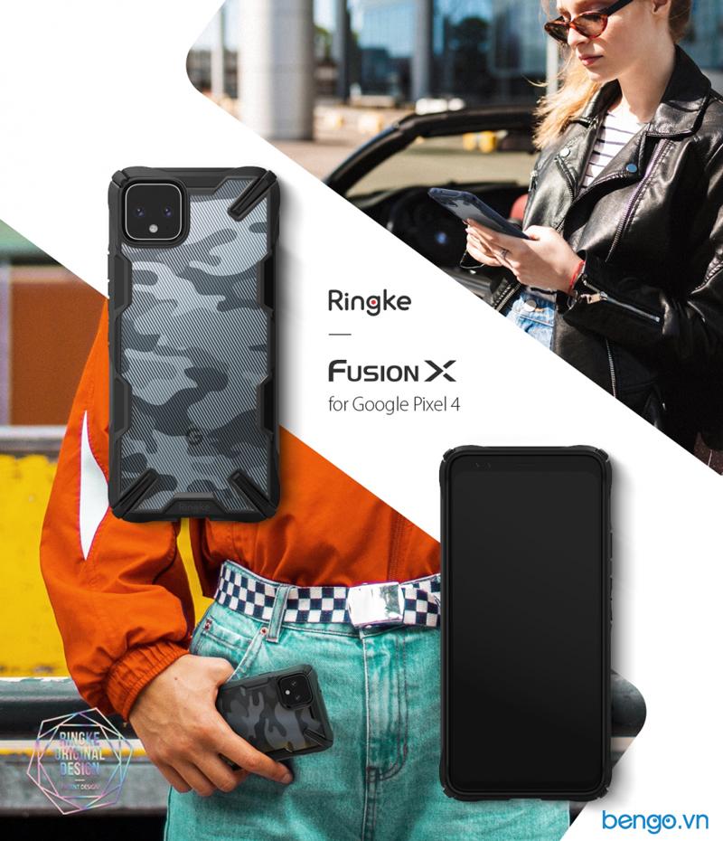 Ốp lưng Google Pixel 4 RINGKE Fusion X Design