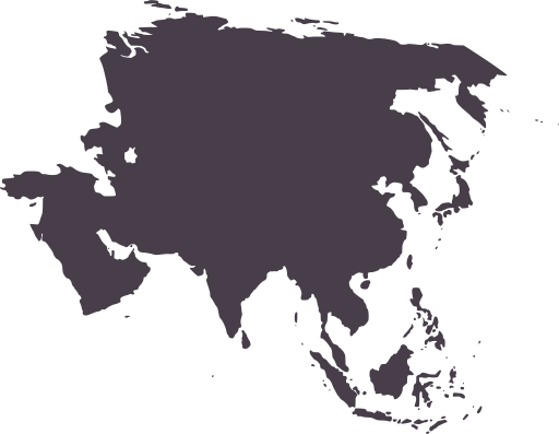 Asia vector map