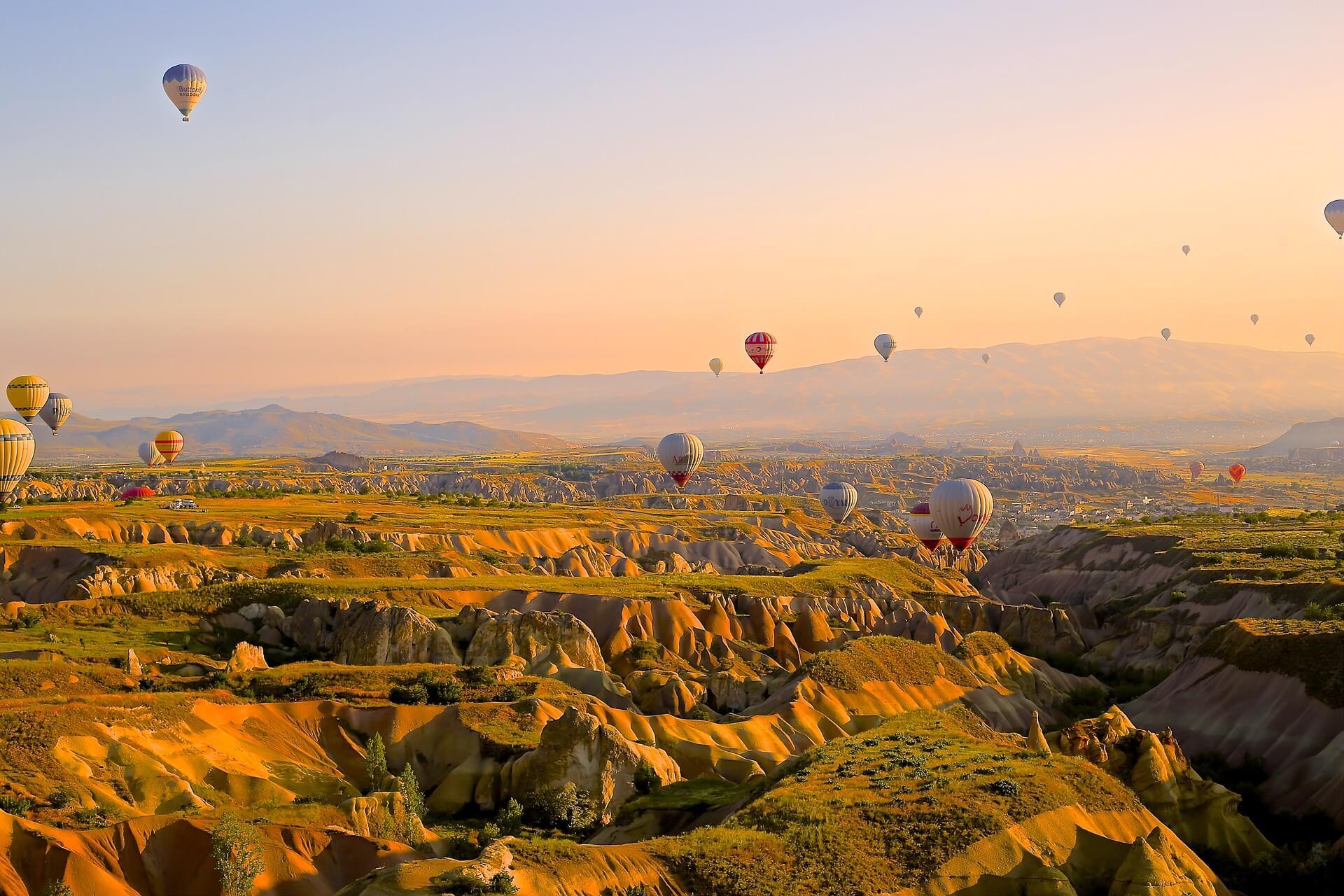 turkey hot air balloon