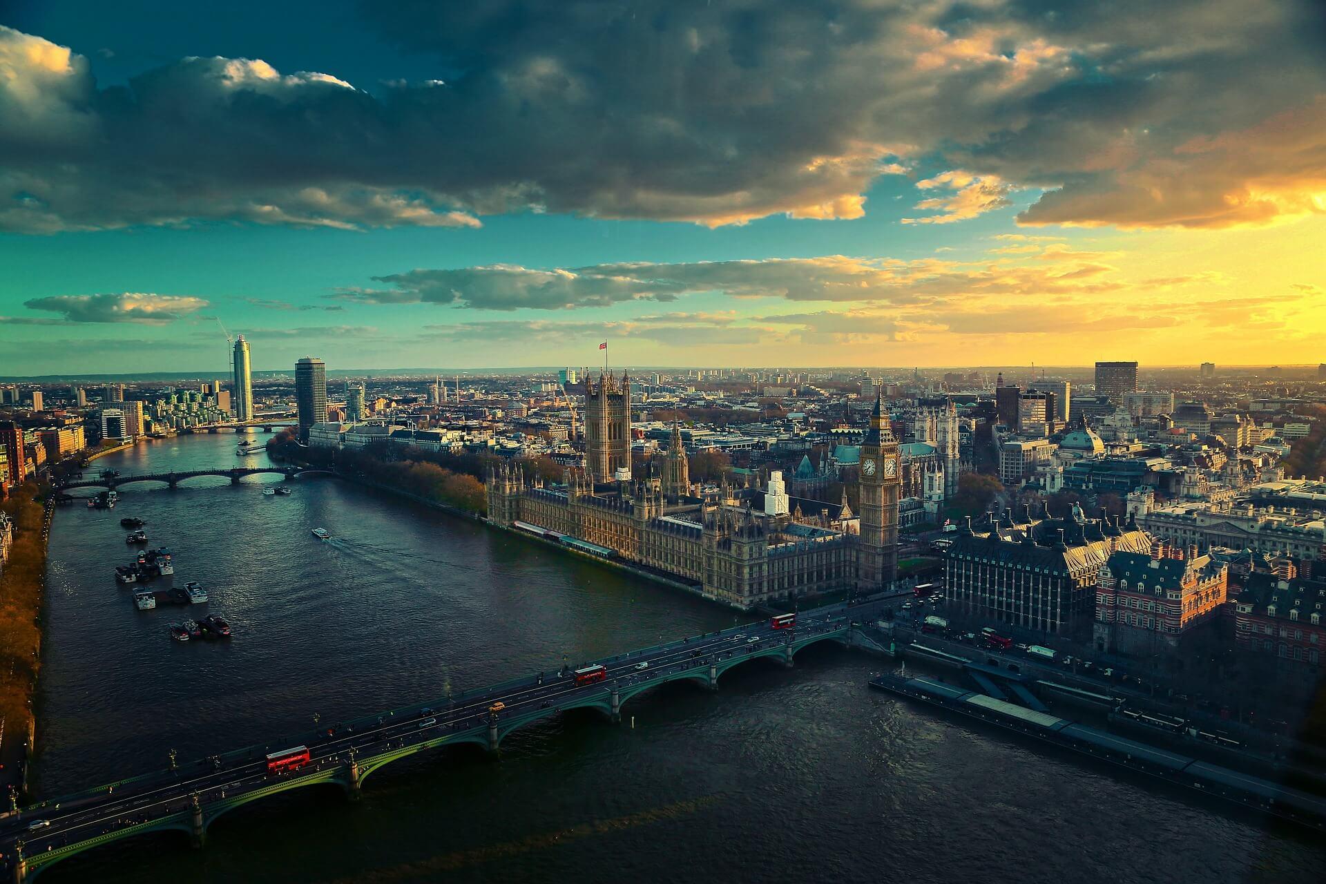 london Westminster Bridge,Big Ben