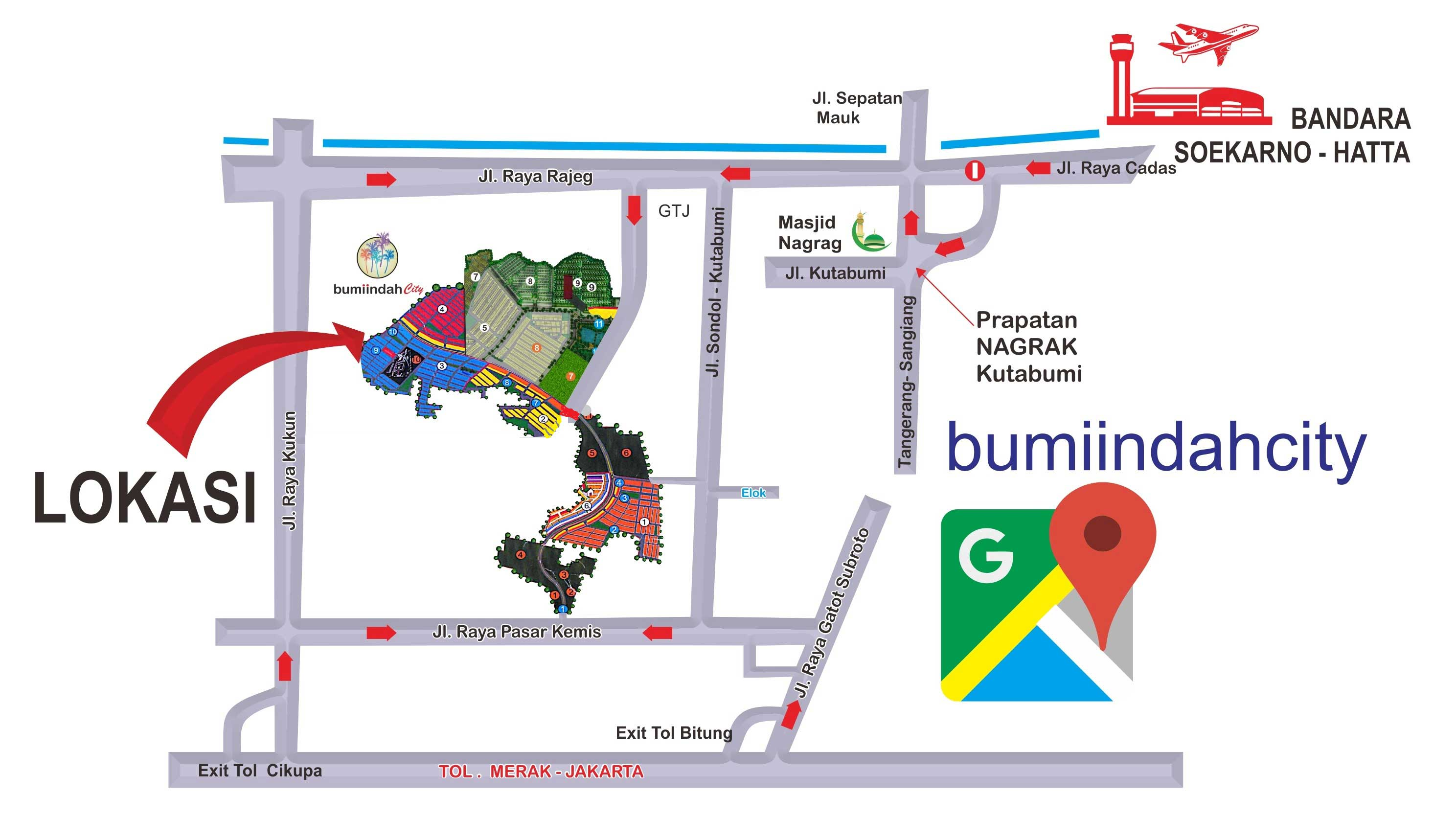 Bumi Indah City Location 1