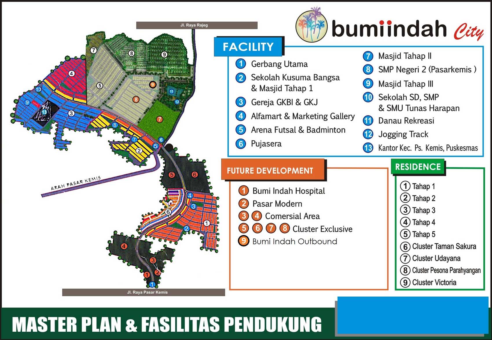Bumi Indah City Masterplan