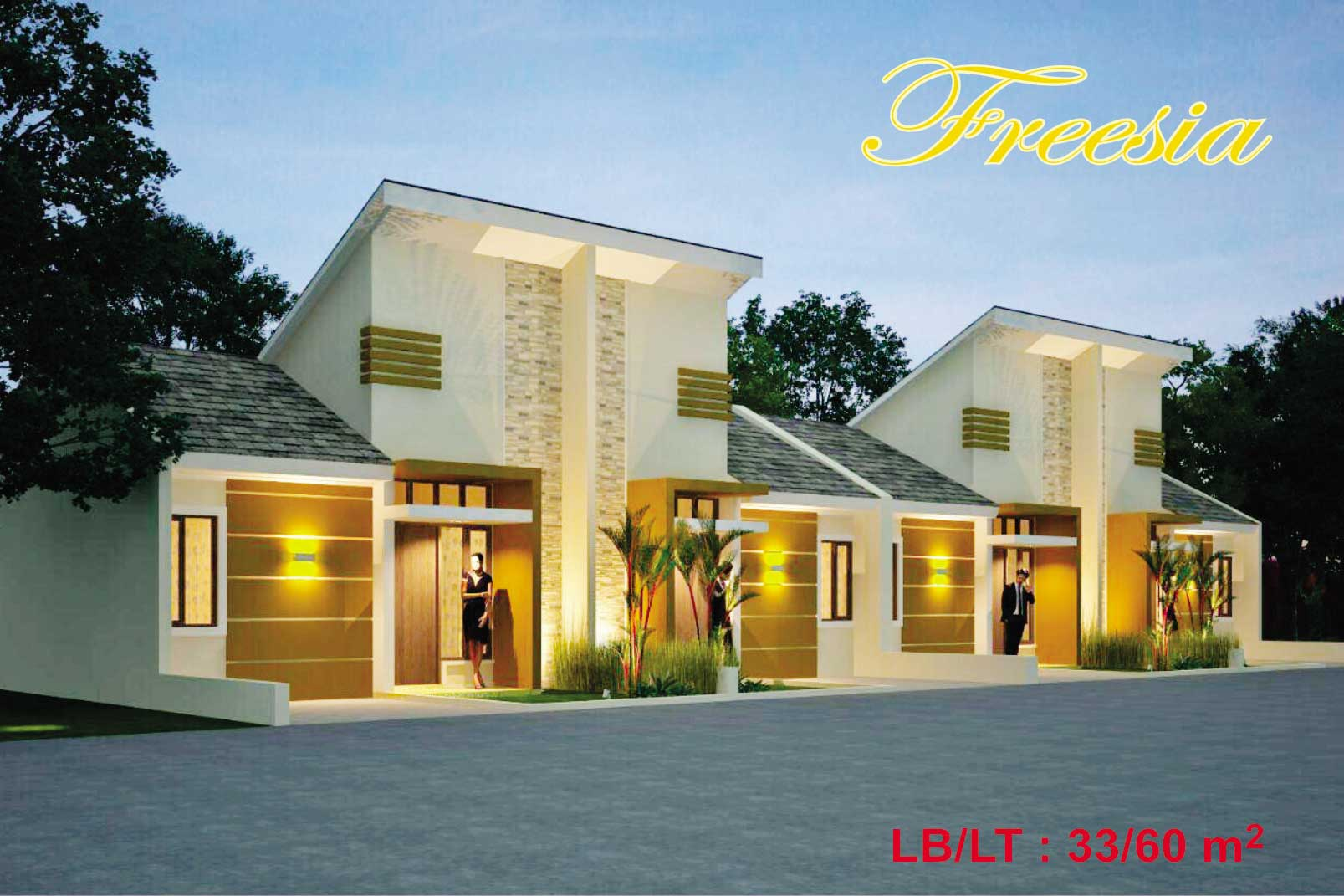 Bumi Indah City Cluster Victoria Tipe Freesia