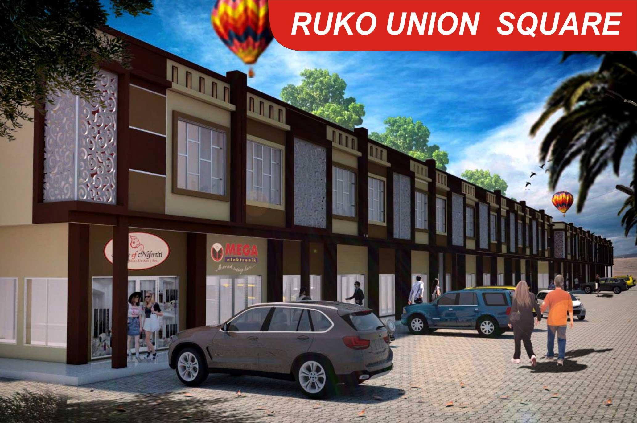 Bumi Indah City Ruko Tipe Union