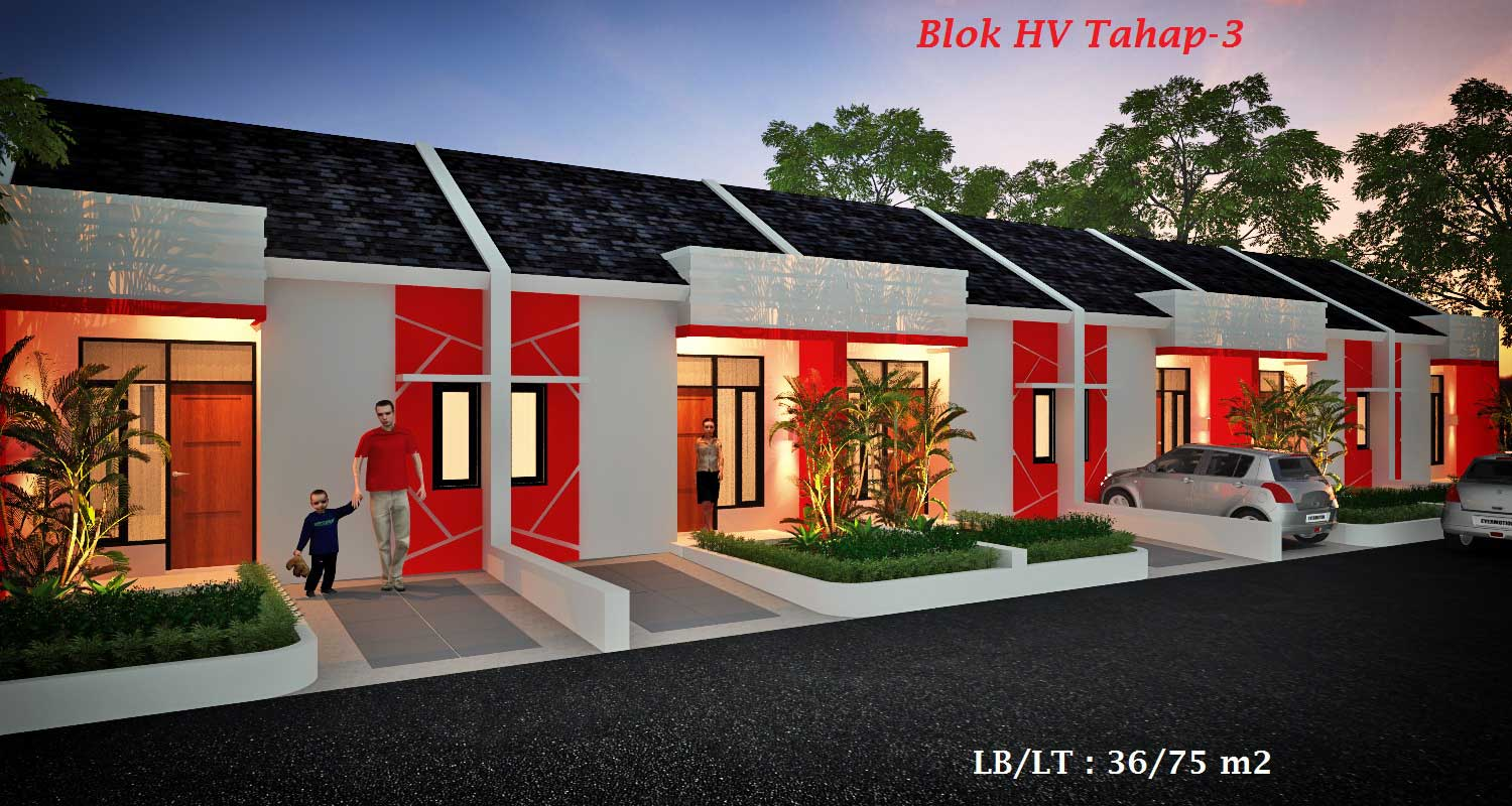 Bumi Indah City Cluster Extention Tipe HV