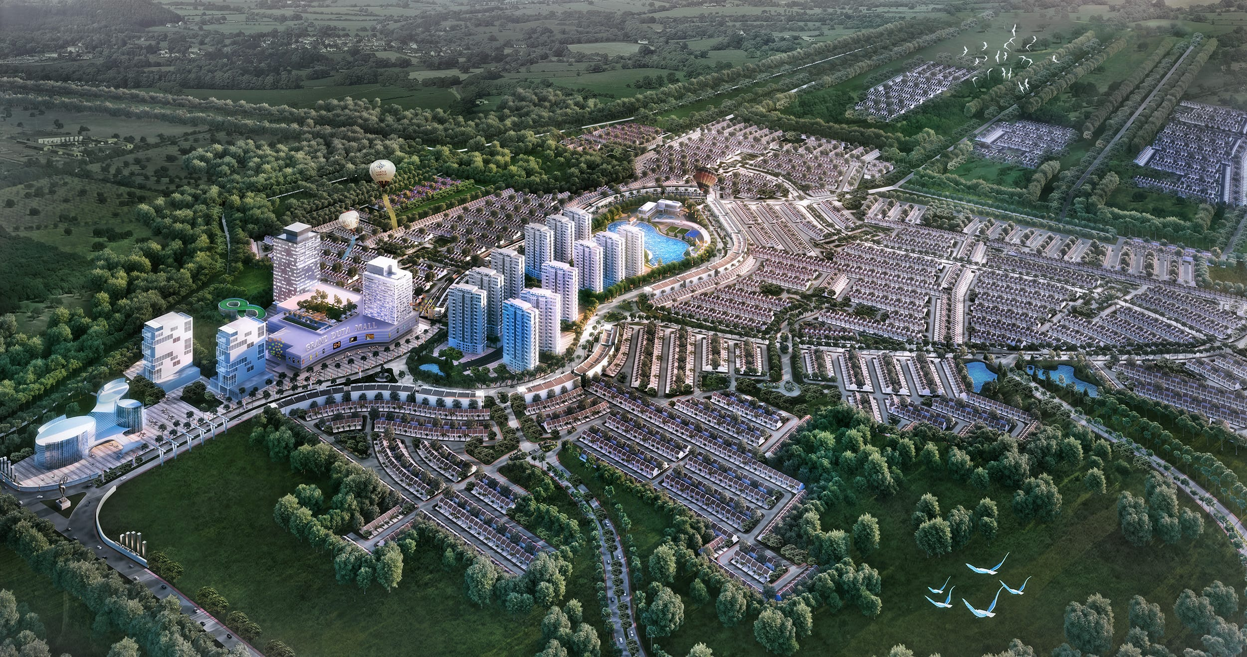 Grand Duta City 200 Hectare of Lifestyle City