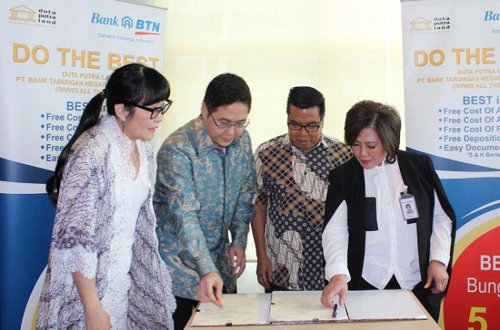 Grand Duta City Gandeng Duta Putra Land, BTN Tawarkan Program Do The Best