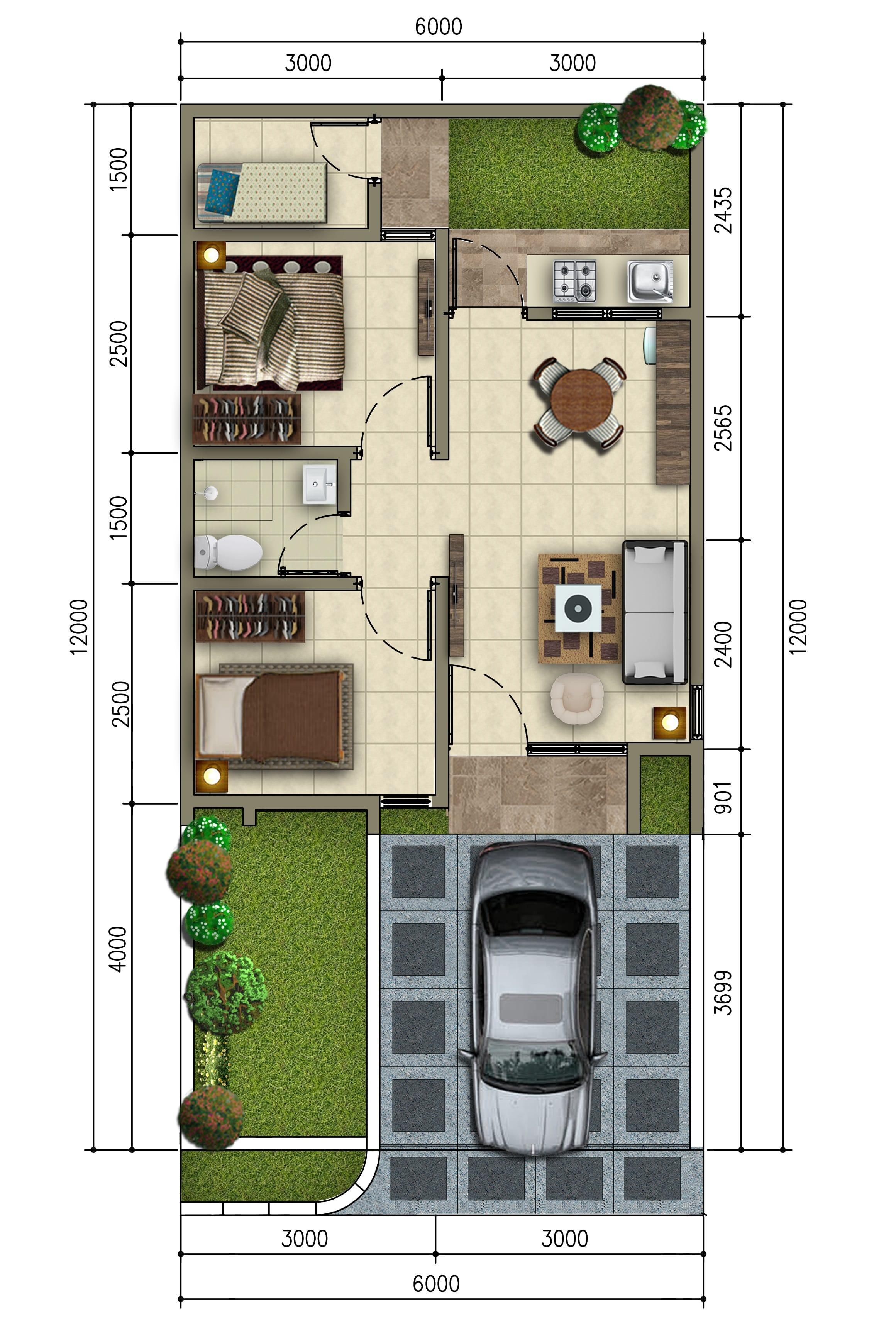 Grand Duta City Unit TIPE 47 TRIBECA type-47-standard