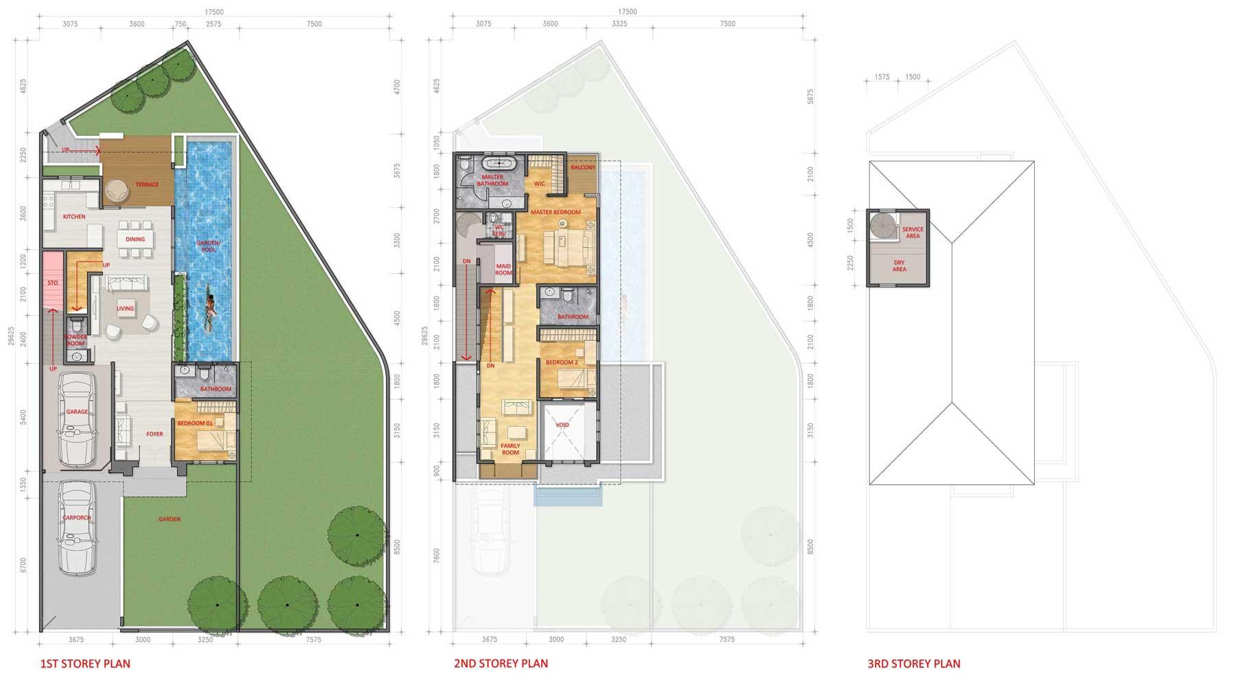 Siteplan Corner Type