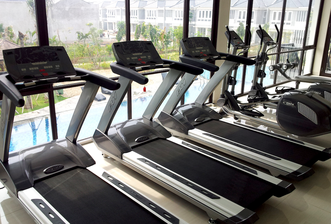 Gym di Casa Jardin Residence