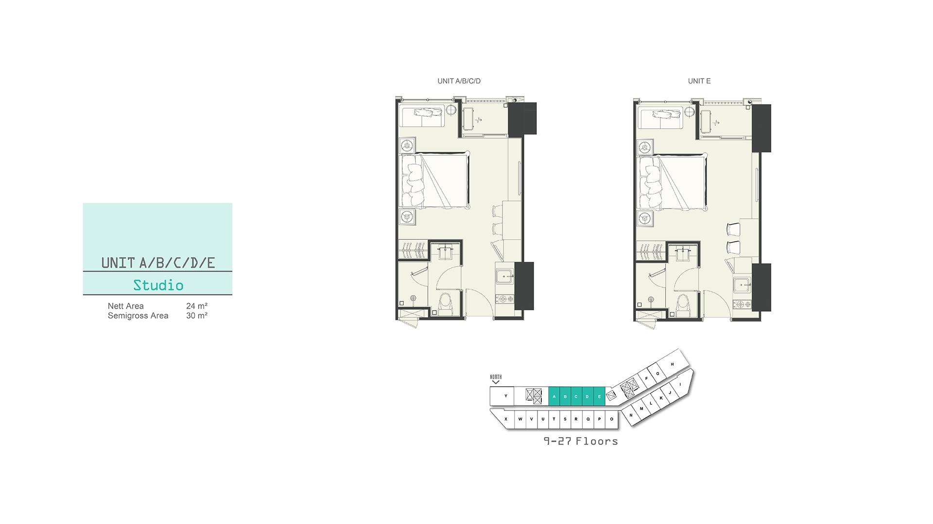 Southgate Studio A (A,B,C,D,E,F,G)
