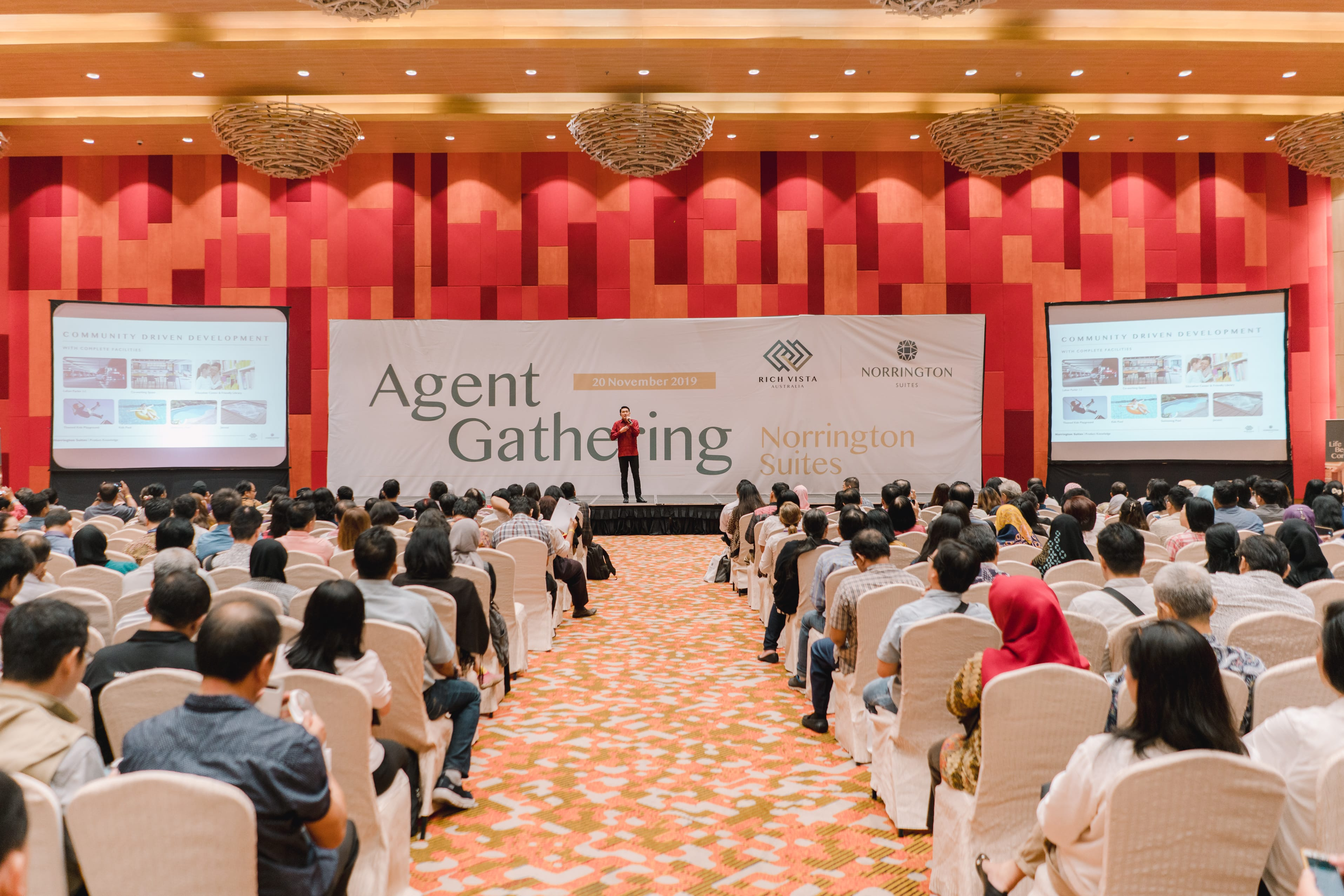 Norrington Suites Agent Gathering