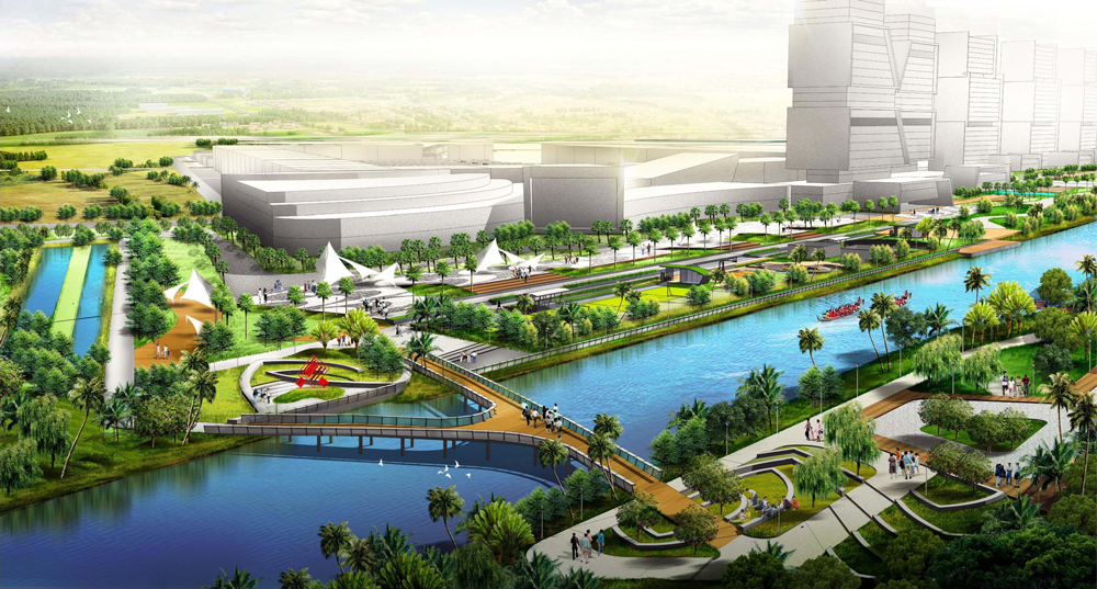 Pik2 Facilities - 60 Ha Green Belt