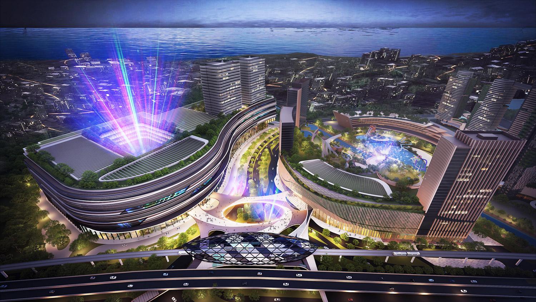 Pik2 Facilities - Mata Elang Internasional Stadium