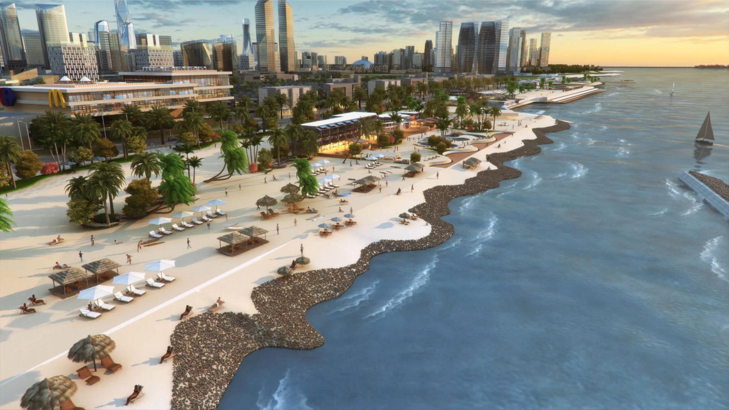 Pik2 Facilities - Waterfront