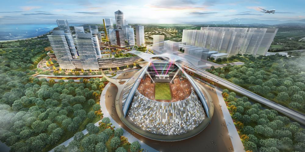 Pik2 Facilities - Mata Elang International Stadium