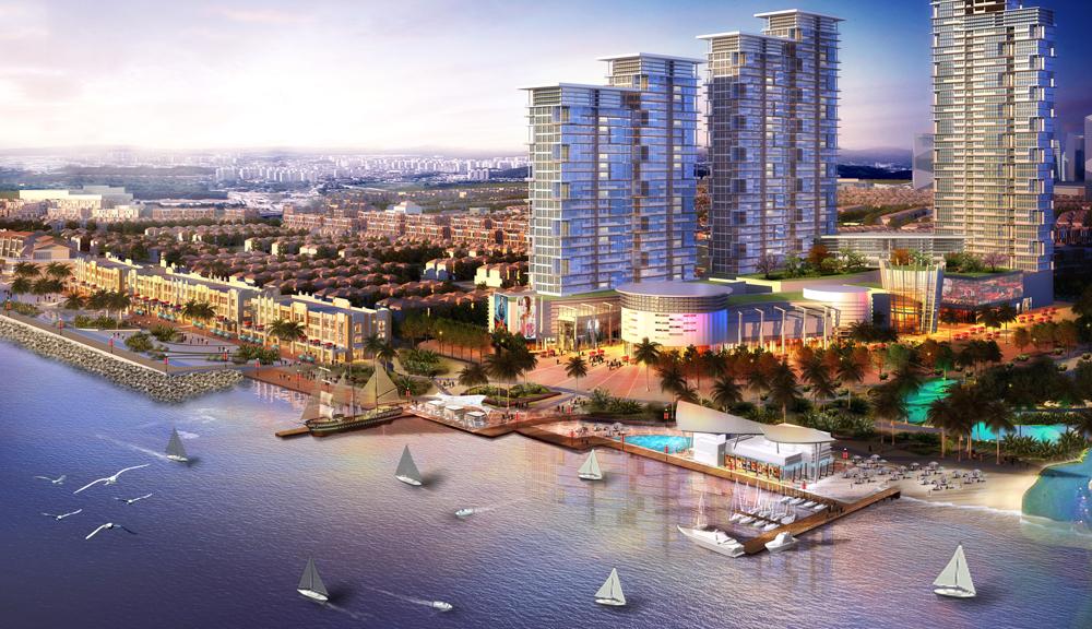 Pik2 Fasilitas - Waterfront