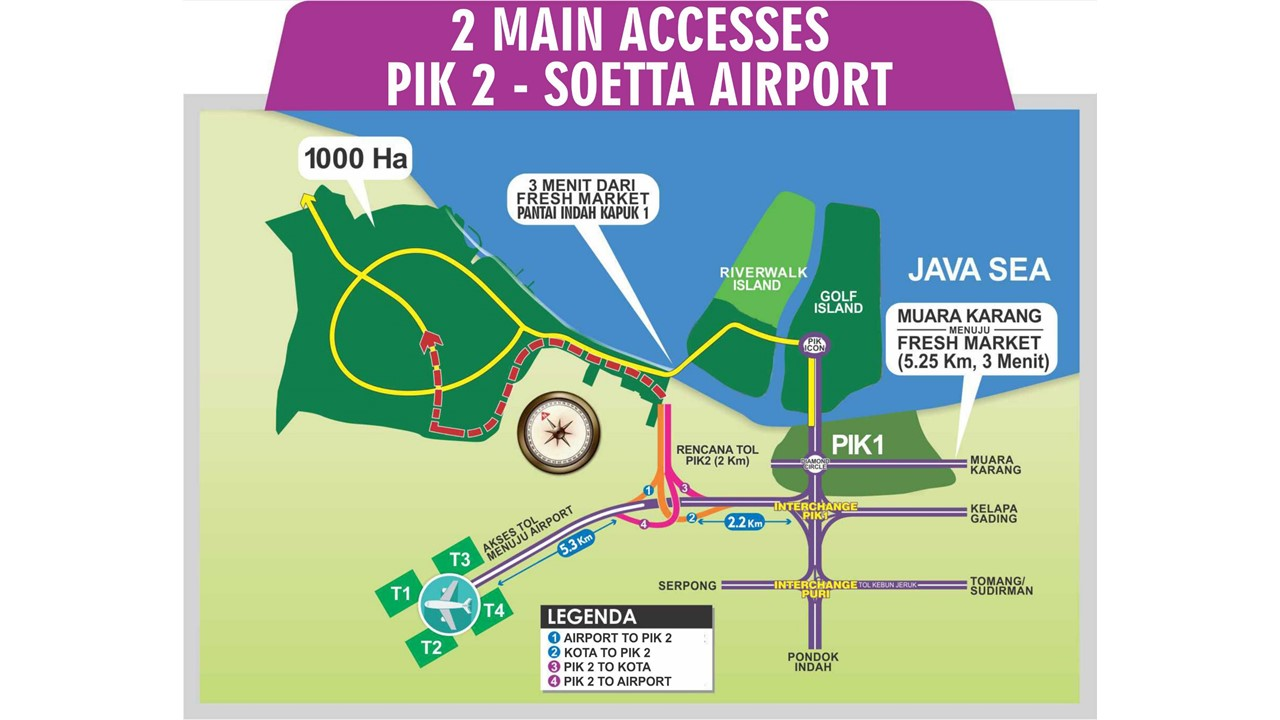 Pik2 Facilities - Direct Toll Acess