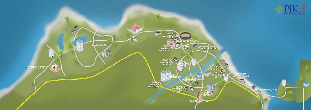 Pik2 - Peta