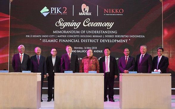 Pik2 Berita - PIK2 Akan Bangun Islamic Financial District