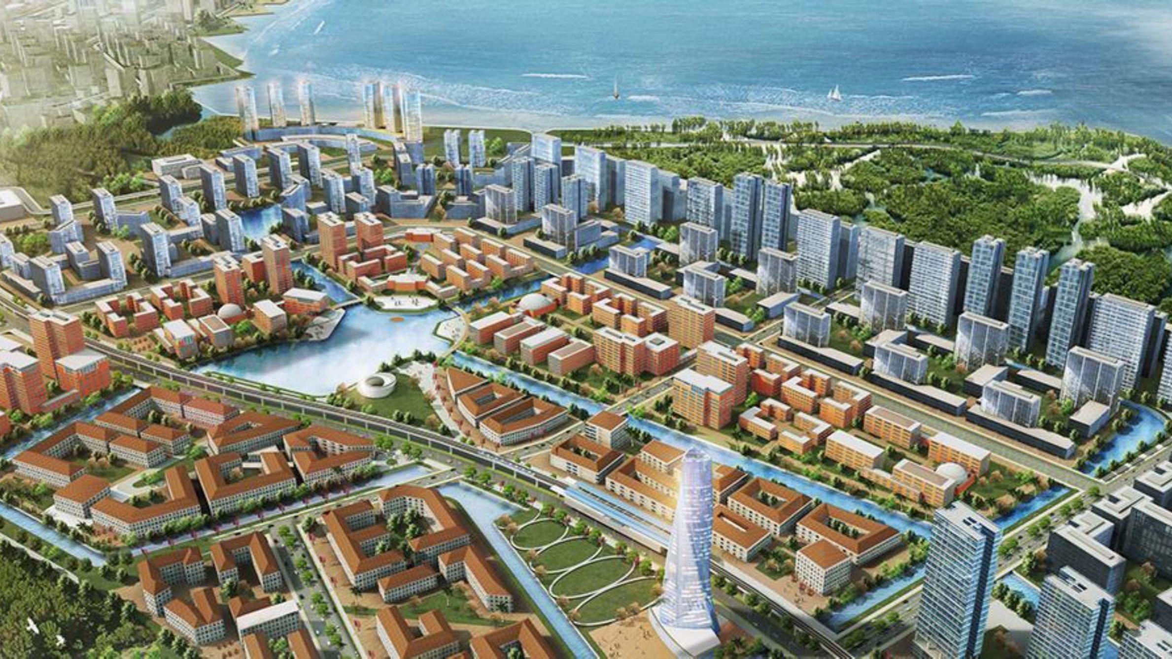 Pik2 Fasilitas - Edu City