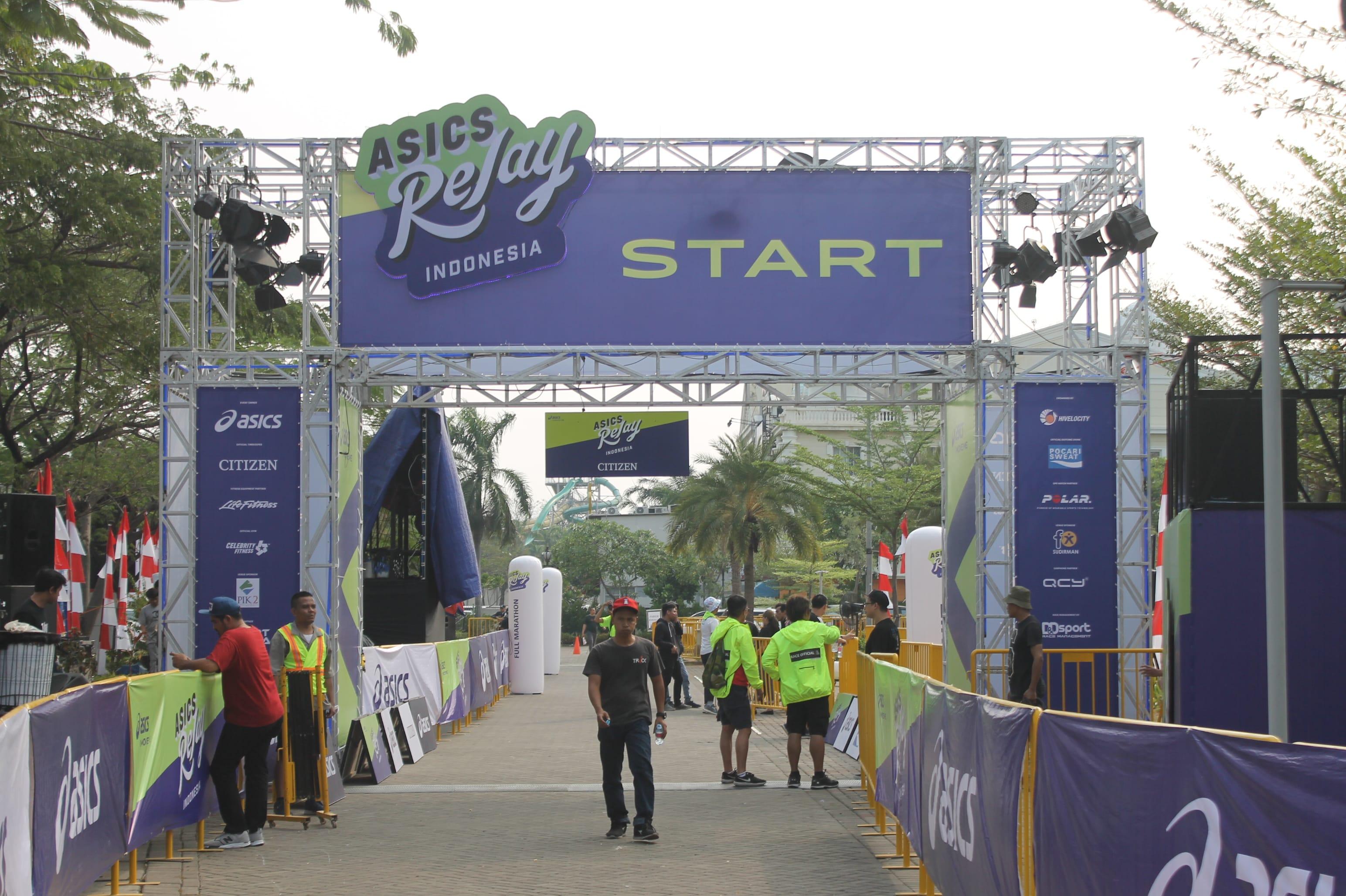 Pik2 Acara - PIK2 Gelar Acara Asics Relay Run 2018