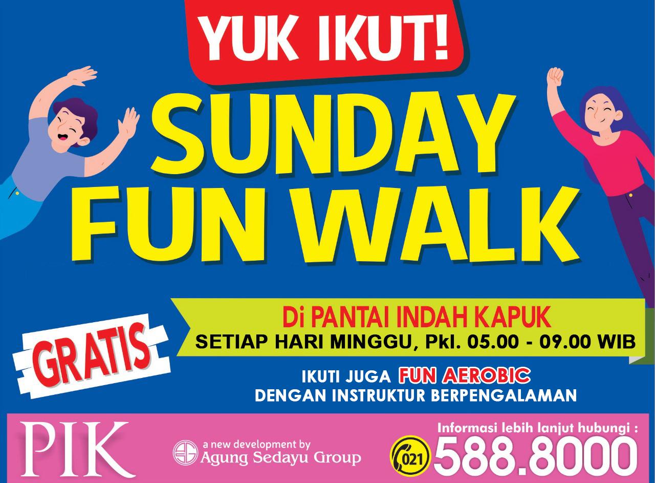 Pik2 Acara - Sunday Fun Walk bersama Menteri Perhubungan