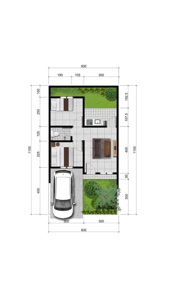 Siteplan Type B