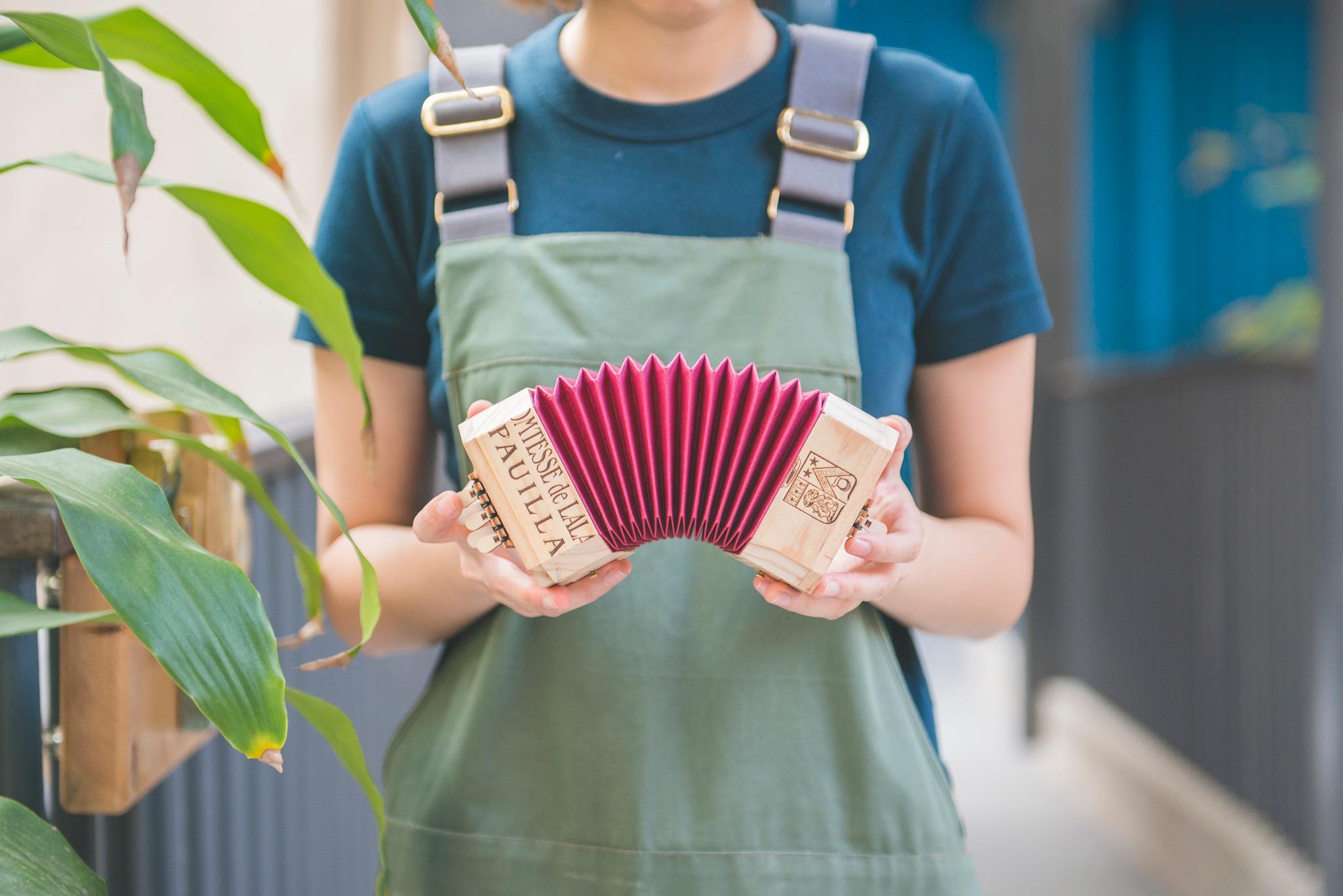 2021情人節 情人節工作坊 workshop 體驗活動 情侶活動 手工 木工 手風琴