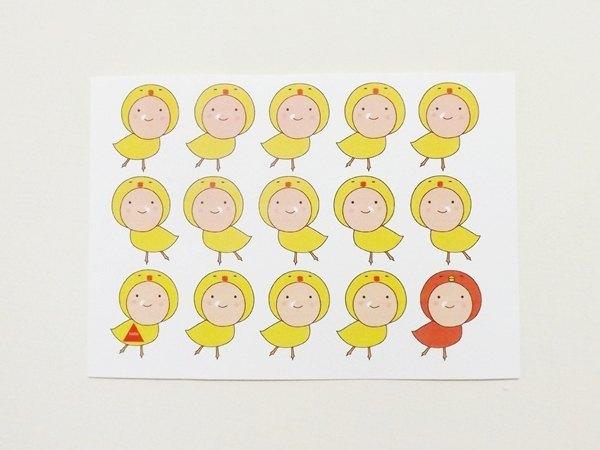簡單兒童明信片設計圖