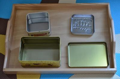 早教教具鐵盒