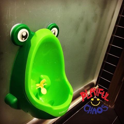 如廁訓練 青蛙馬桶