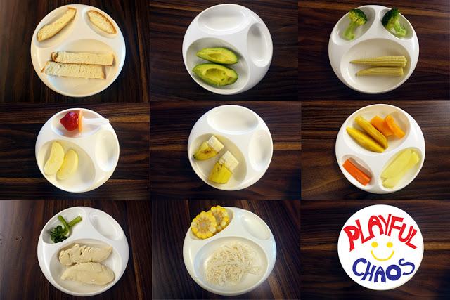 BLW食物的形狀和大小