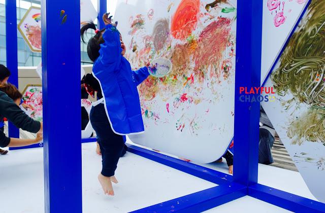 齊來觀察孩子的戶外巨型Messy Play!